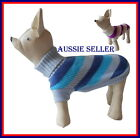 Pet Dog Jumper Sweater For Small Dogs Puppies 3 colours 3 sizes Melbourne Seller