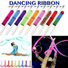 10 Color 4M Gym Dance Ribbon Rhythmic Art Gymnastic Streamer Baton Twirling Rod