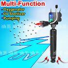 3 in 1 Submersible UV Sterilizer UVC Lamp Water Air Pump Aquarium Fish Tank TUV
