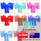 100 x Satin Chair Sashes Cloth Cover Wedding Party Event Decoration Table Runner
