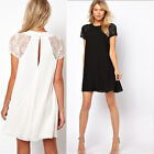 New Sexy Womens Summer Chiffon Casual Party Evening Cocktail Short Mini Dress