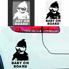 Baby on Board Window Decal/Sticker Safety Funny Truck Car laptop Hangover