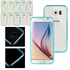 Luxury Soft TPU Acrylic Designed Back Case Cover Skin For Samsung Galaxy S6 r1
