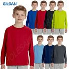 NEW Gildan Performance Youth Dri-Fit Long-Sleeve T-Shirt XS-XL MG424B