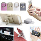 360 Degree Ring Stand Mount Holder Car Bracket For iPhone Mobile Cell Phone PDA