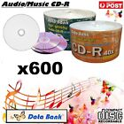 Blank Audio CD DataBank CD -R 52x White Inkjet Printable Blank Music CDR