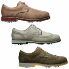 FOOTJOY MENS CITY GOLF SHOES - NEW WATERPROOF LEATHER SPORT BROGUE CLASSIC 2014