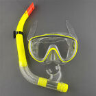 New Swimming Diving Mask Dry Silicone Scuba Snorkel Goggles SET Yunosg