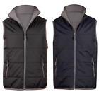 NEW MENS VERSATILE NYLON CASUAL DRESS BLACK NAVY VEST TOP JACKET JK37