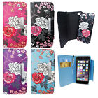 Floral, Flower, Rose - 2 in 1 Wallet Case with Magnetic Detachable Hard Cover