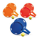 Beach Elastic Bat and Ball Set - Garden Games Summer Activity Holiday Racket BN
