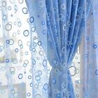 Hot Bubble Pattern Room Voile Window Curtains Sheer Panel Drapes Scarfs Curtains