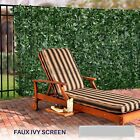 """72""""(h) Artificial Faux Ivy Leaf Privacy Fence Screen Décor Panels Outdoor Hedge"""