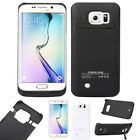 4200mAh External Backup Battery Power Charger Cover For Samsung Galaxy S6 Edge