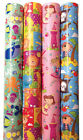 3m ROLL CHILDRENS BIRTHDAY GIFT WRAP WRAPPING PAPER