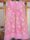 GIRLS PRETTY PINK FLORAL DRESS FROM NEXT AGE 2-3/3-4 AND 5-6 BNWOT