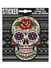 Sugar Skull Rose Sticker