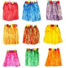 40cm Hawaiian Hula Skirt Luau Summer Hen Night Fancy Dress Costume Accessory