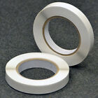 12mm Clear Strong Double Sided Adhesive Sticky Tissue Tape Easy Remove Backing