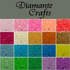 500 2mm Diamante Candy Coloured Pastel Neon Rhinestone Nail Body Art Gems
