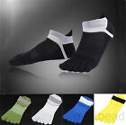 Fashion 1 Pairs Mens Cotton Five Finger Socks Toe Socks Casual Breathable Sports