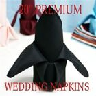 NEW PREMIUM WEDDING CATERING DINNER RESTAURANT CLOTH NAPKINS SOFT LARGE 20X20