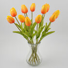Real Touch Tulip Artificial Flower Latex Bridal Wedding Bouquet Home Decor 6 12