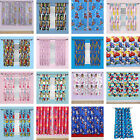 Childrens Kids Boys Girls Character Disney Bedroom Nursery Ready Made Curtains