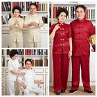 Chinese Traditional Style Men's & Women's Suit Jacket Trousers M L XL XXL 3XL