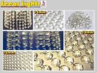 3 SIZES CHANDELIER LIGHT CRYSTALS DROPLETS GLASS BEADS WEDDING DROPS PRISM PARTS