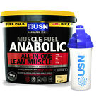 USN MUSCLE FUEL ANABOLIC 4kg - ALL FLAVOURS - #**PLUS FREE SHAKER**#