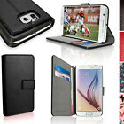 PU Leather Skin Wallet Card Case for Samsung Galaxy S6 SM-G920 Flip Stand Cover