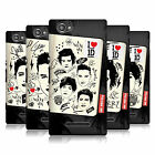 OFFICIAL ONE DIRECTION 1D FANPHERNALIA HARD BACK CASE FOR SONY XPERIA M C1904