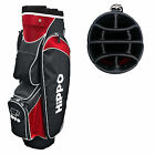HIPPO GOLF JUNIOR UNISEX CART BAG -LIGHTWEIGHT KIDS TROLLEY FULL LENGTH DIVIDERS