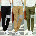 Korean Mens Casual Harem Slim  Dance Fashion Sport Feet Pants Cargo Trousers