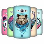 HEAD CASE DESIGNS FAUNA HIPSTERS HARD BACK CASE FOR SAMSUNG GALAXY J1