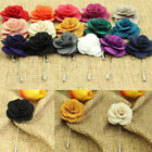 Men's Woman' Pins Brooch Lapel Flower Decor Boutonniere Stick Brooch For Weeding