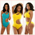 Sexy Women Hollow One-Piece Bikini Swimsuit Bathing Suit Monokini Beach Swimwear