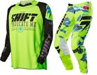 NEW 2016 SHIFT RACING STRIKE MX DIRT BIKE GEAR COMBO YELLOW CAMO ALL SIZES
