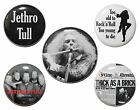 "1"" (25mm) Jethro Tull Button Badge Pins OR Magnets - Gift & Music - High Quality"