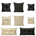 Elegance Bedroom Couture Monte Carlo Satin Beaded Cushion Filled Cushion Cover
