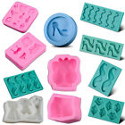 1x Women Clothes Silicone Cake Fondant Mold Baking Mould Sugarcraft Decorate FAS