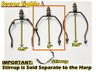 HARP SHADE CARRIER GIMBLE HOLDER FOR TIFFANY LAMP BASE LIGHT SHADE ANTIQUE STYLE<br/>Lamps - 112581