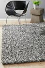 OLENA SHAGGY RUG GREY Quality Soft Non Shed Shag Large Mat FREE DELIVERY*