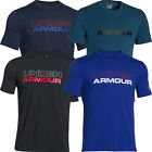 Under Armour 2015 Charged Cotton Wordmark T-Shirt Mens Training Sports Tee