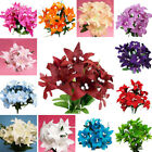 210 TIGER LILY Lilies Silk Flowers WHOLESALE WEDDING PARTY CRAFTS DECORATIONS