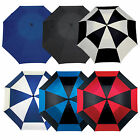 MASTERS GOLF FORCE9 UMBRELLA - NEW ADULTS WINDPROOF BROLLY VARIOUS COLOURS