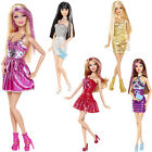 Barbie Fashionistas Doll Glitter Streaked Hair Trendy Outfit Accessories 30cm 3+