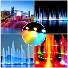 Set of 1/2/3/4 LED 12V Ponds Light For Underwater Fountain Water Garden Colourfu