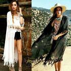 Chic Summer Sexy Lady Beach Cardigan Bikini Cover Up Swimwear Long Dress